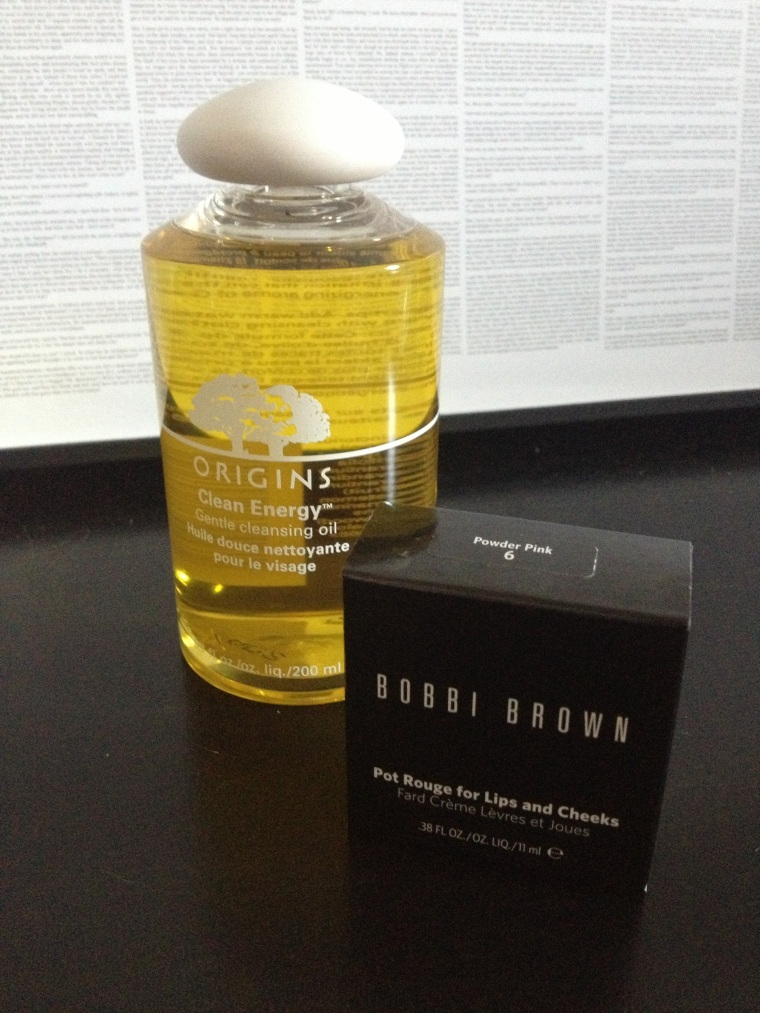 Origins Clean Energy: £14.00 Bobbi Brown Pot Rouge: £12.00