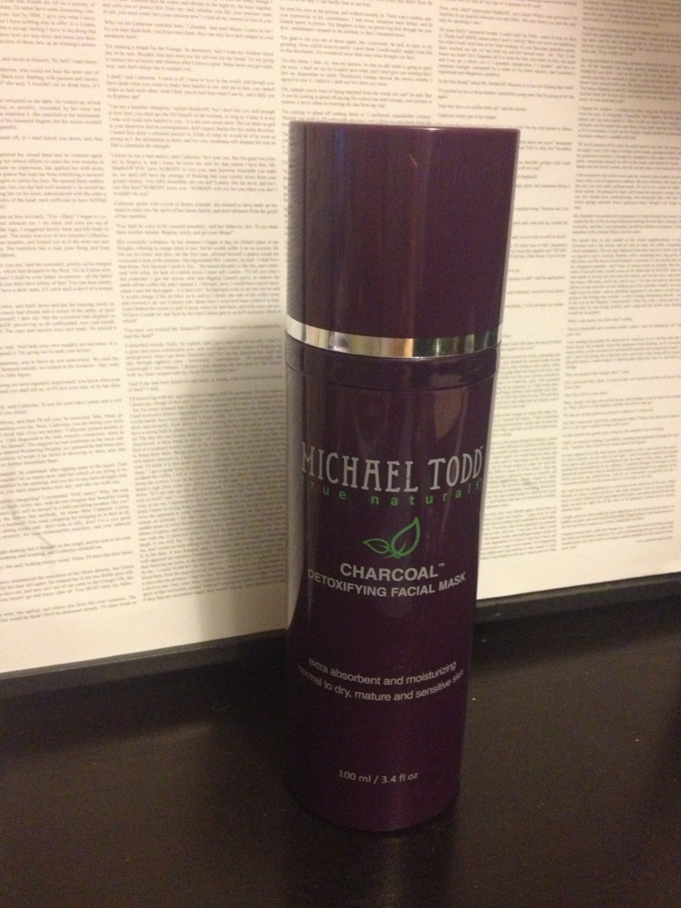 Michael Todd: Charcoal Detoxifying Mask: £23.00 ish