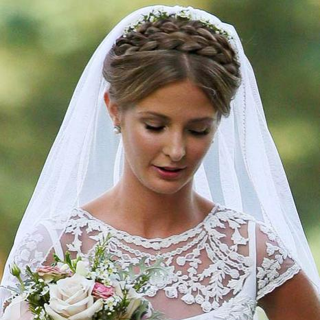 Millie Mackintosh Bridal Hair